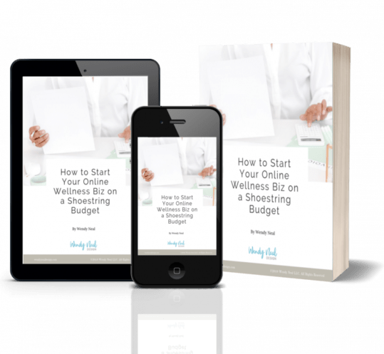Wendy Neal Design - How to Start Your Online Wellness Biz on a Shoestring Budget