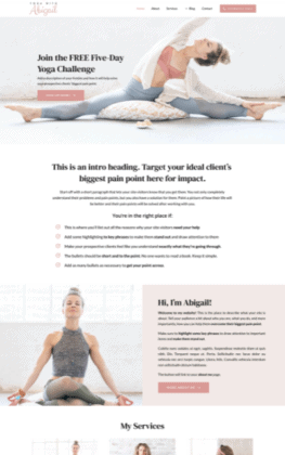 Wendy Neal Design - Abigail Site Template