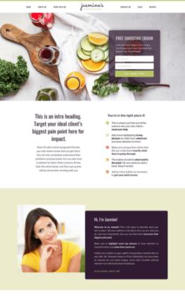 Wendy Neal Design - Jasmine Site Template