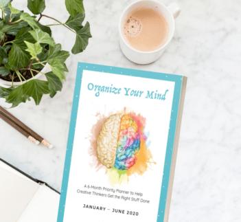 Wendy Neal Design - Organize Your Mind Planner
